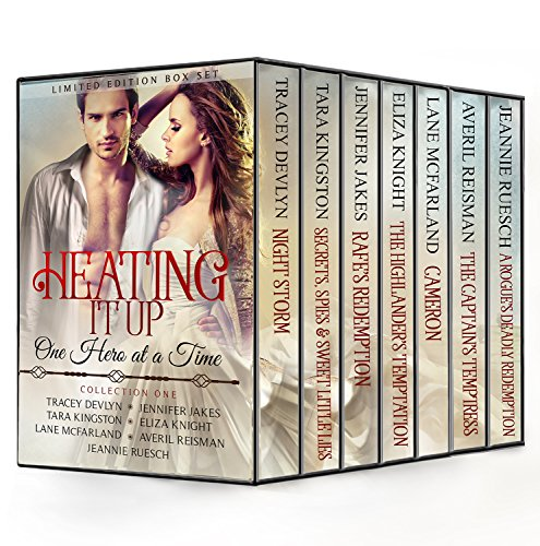 Heating It Up, One Hero at a Time: Seven Full-Length Sensual Historical Romance Novels, A Limited Edition Boxed Set