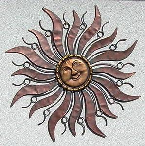 Empfehlen facebook twitter pinterest eur 49 90 kostenlose for Metall sonne gartendeko