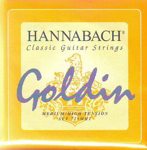 Hannabach Classical Guitar Goldin Medium/High