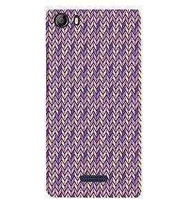 Shiny Chevron 3D Hard Polycarbonate Designer Back Case Cover for Micromax Canvas 5 E481
