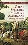 Great Speeches by Native Americans (Dover Thrift Editions)