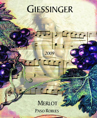 2009 Giessinger Merlot Reserve, Paso Robles 750 Ml