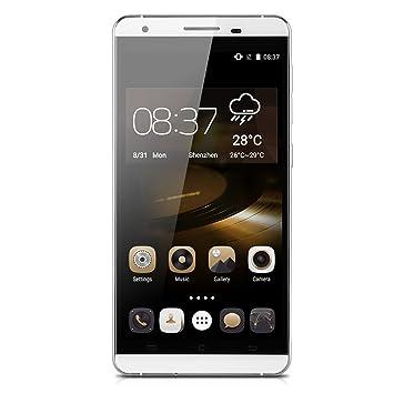 """CUBOT X15 Smartphone Portable Android 5.1 4G LTE 5.5 """" écran FHD 1080P IPS MT6735 Quad Core HotKnot Téléphone Mobile Double Carte Sim Intelligente Wake Air Geste OTA GPS WIFI (Blanc)"""