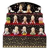 雛人形 ひな人形 キューピー人形 置物 ローズオニール キューピー3段雛人形