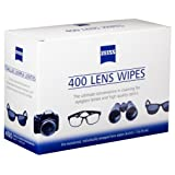 Zeiss Pre-Moistened Lens Cleaning Wipes 400 Count (Tamaño: 400 Count)