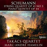 Schumann: String Quartet Op. 41, No. 3; Piano Quintet