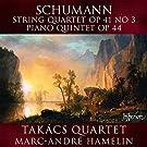 Schumann : Quatuor � cordes n� 3 Op. 41 - Quintette pour piano Op. 44