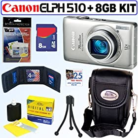 Light Blue Black Trim Protective Soft Neoprene Cover Sleeve for Pentax Optio I 10 NB1000 RS1000 RS1500 RZ10 S1 Point and Shoot Digital Camera and Blue Black 6 Inch Mini Tripod and Screen Protector