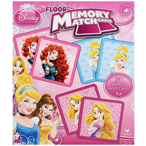 Disney Princess Floor Memory Match Game by Disney Princess (English Manual)