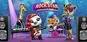 Rock Star Animal Hair Salon - Wild Pets Music Band Concert Makeover by TutoTOONS