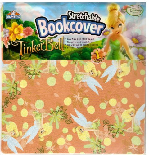 Tinkerbell Stretchable Bookcover front-884093