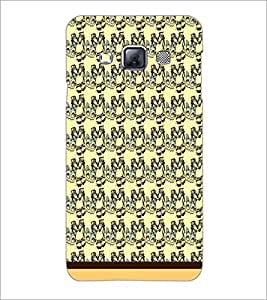 PrintDhaba Pattern D-1739 Back Case Cover for SAMSUNG GALAXY A3 (Multi-Coloured)