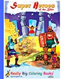 Super Heroes of the Bible Giant Super Jumbo Coloring Book (18 wide x 24 tall)
