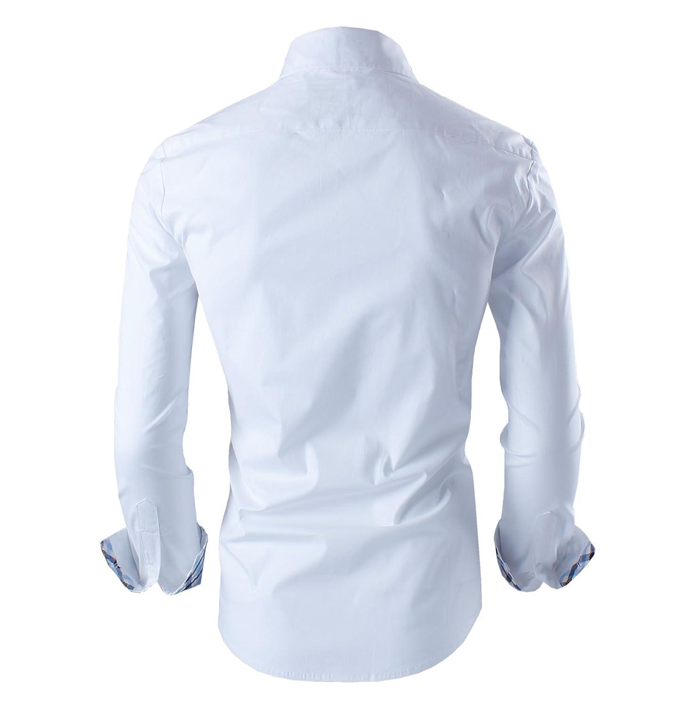 Tom's Ware Mens Premium Casual Inner Layered Dress Shirt at Amazon Men�s Clothing store
