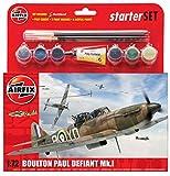 Airfix - Ai55213 - Maquette Avion - Pack De Démarrage - Boulton Paul Défiant...