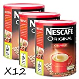 12 x Nescafe Original Coffee Granules 750g (£17.99 Each)
