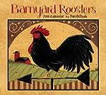 Barnyard Roosters 2016 Deluxe Wall Ca...