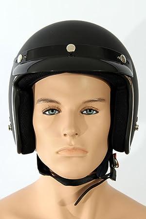 Casques de moto Jethelm TC-44 Noir mat XL ABS, Polycarbon Polystyrène