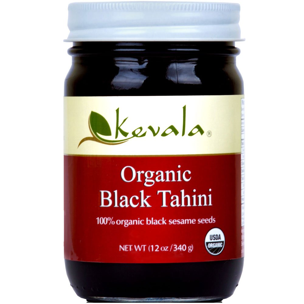 Black Tahini - used in a healthy chocolate quinoa energy bite recipe