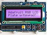 Raspberry Pi用16×2 LCDキーパッドキット (RGB Positive)