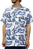 (スタイルバイオリジナルス) Style by Originals POWER JEANS VALUE アロハシャツ 半袖 シャツ レーヨン ハイビスカス 10color M 柄1