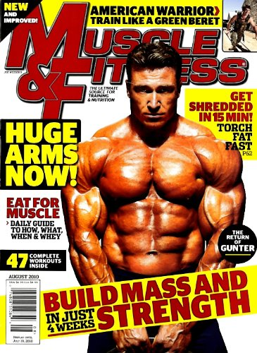 Muscle & Fitness [US] August 2010 (単号)