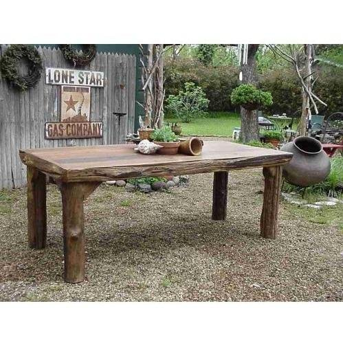 Groovy Stuff Ranch House Teak Wood Dinner Table - Tf-320