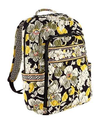 Amazon.com: Vera Bradley Laptop Backpack (Bittersweet): Computers