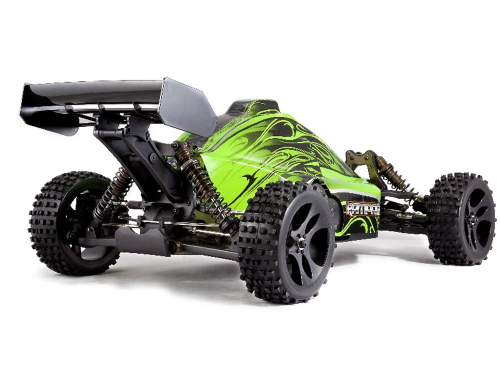 Redcat Racing Rampage XB Gas Buggy, Green, 1/5 Scale