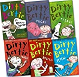David Roberts Dirty Bertie Collection David Roberts 6 Books Set (Bogeys!, Fangs!, Fetch!, Fleas!, Yuck!, My book of stuff!)