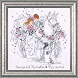 Design Works Wedding Carriage Cross Stitch Kit, Multi-Colour