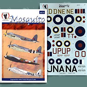 De Havilland Mosquito Best Sellers, Part 1: RAF, RAAF (1/48 decals)