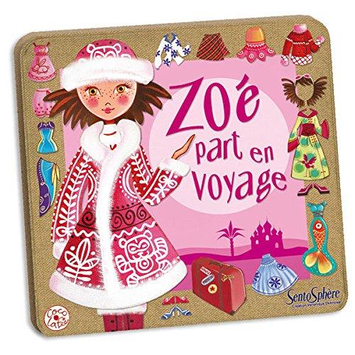 Creation Vd - 290 - Jeu de Société - Zoe Part en Voyage