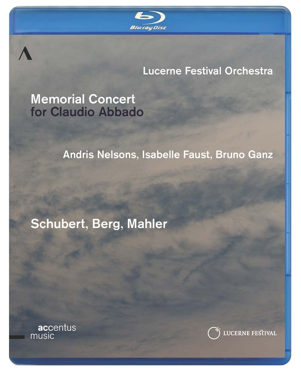 Andris Nelsons, Lucerne Festival Orchestra, Isabelle Faust – Memorial Concert for Claudio Abbado (2015) Blu-ray 1080i AVC DTS-HD 5.1