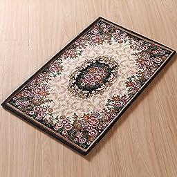 XH@G Jacquard carpet rug mat bathroom mat kitchen absorbent pad , deep blue , 60cm*90cm