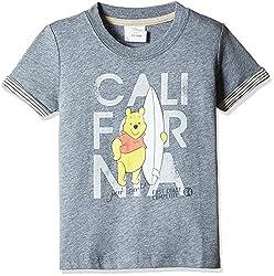 Fox Baby Boys' T-Shirt (Petrol Melange_18-24 M_327575)