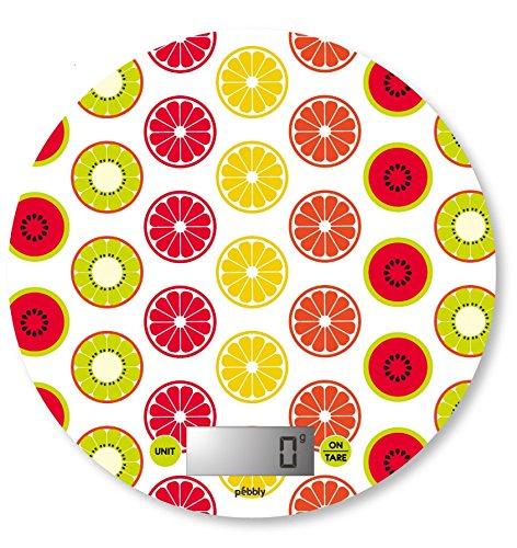 Pebbly 88-8033A Agrumes Balance de Cuisine Electronique Rond