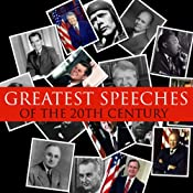 Great Speeches of the 20th Century | [Bob Blaisdell]