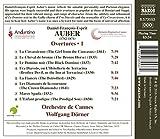 Cover of Daniel-Francois-Esprit Auber: Overtures, Vol. 1