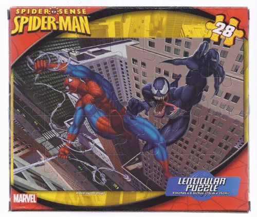 Spider-Man 28-Piece Puzzle featuring Spiderman and Venom