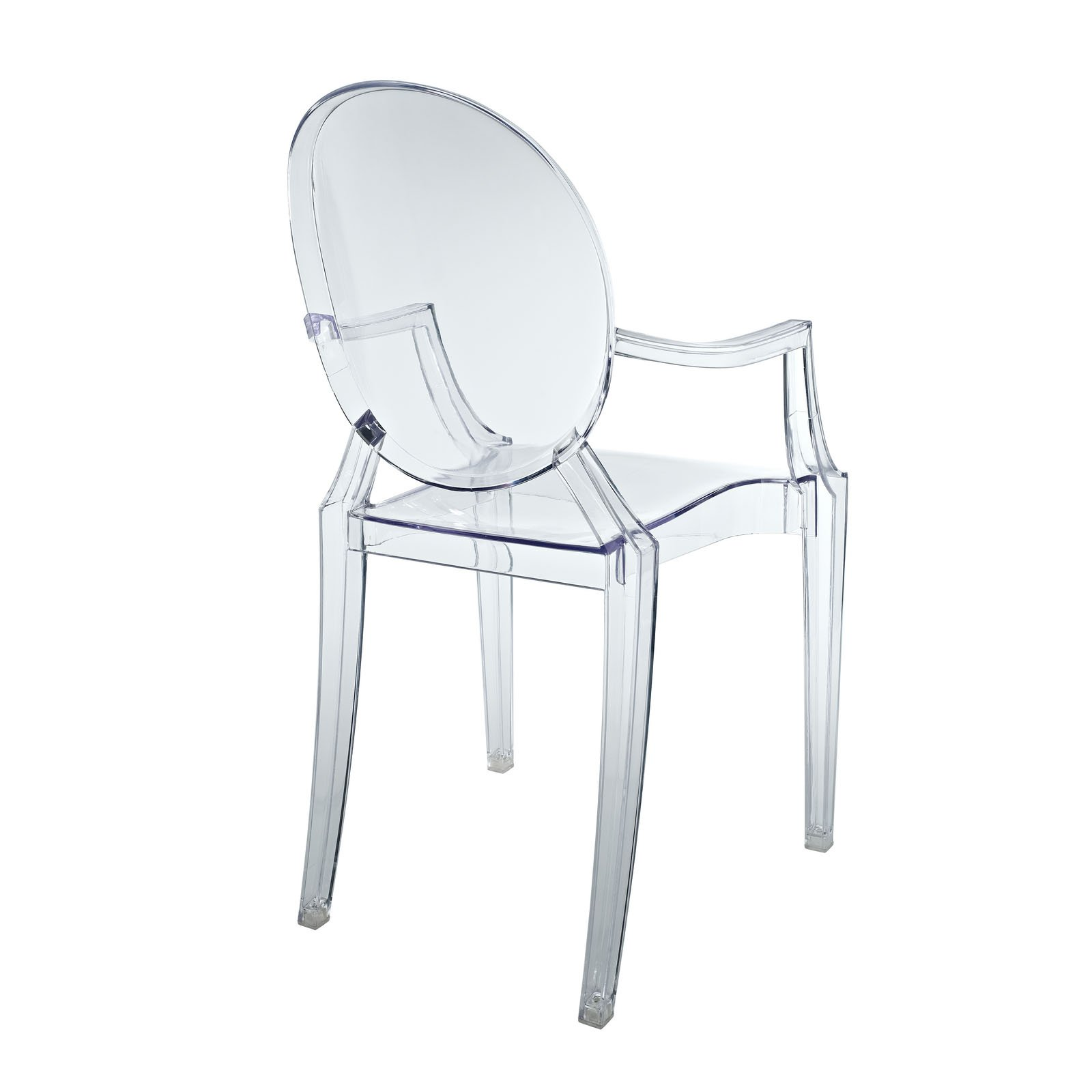 LexMod Philippe Starck Style Louis Ghost Chair FOR KIDS