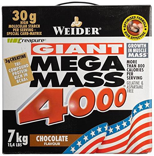Weider Mega Mass 4000, Schoko, 7kg Dose