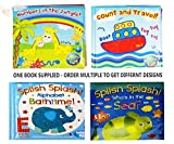Baby Bath Books Plastic Coated Fun Educational Learning Toys for Toddlers Kids 1 x Random Book