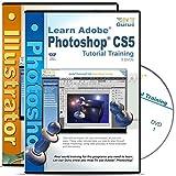 Adobe Photoshop CS5 Tutorial plus Illustrator CS5 Training on 5 DVDs