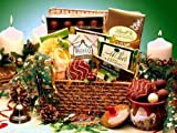 Happy Holiday Chocolate Wishes Gourmet Food Gift Basket