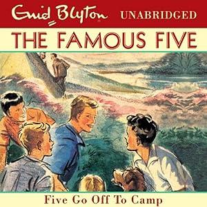 Five Go Off to Camp Audiobook