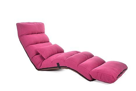 XXFFH® Faltbares Sofa, Klappbarer Bodenstuhl Tatami Sitzsack Spielstuhl, bequeme Aufbewahrung, Mehrfachwinkelverstellung , 205