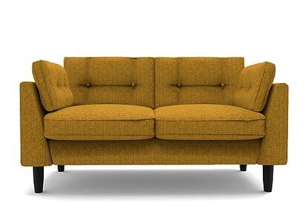 2 Sitzer Sofa senfgelb Marigold