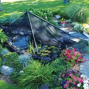The pond guy pondshelter net kit 16 for Garden pond amazon