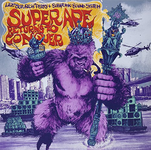 Vinilo : LEE SCRATCH & SUBATOMIC SOUND SYSTEM PERRY - Super Ape Returns To Conquer